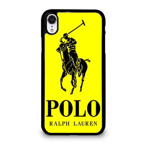 YELLOW POLO RALPH LAUREN iPhone XR Case