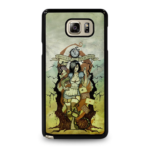 Zombie Alice In Wonderland Samsung Galaxy Note 5 Case