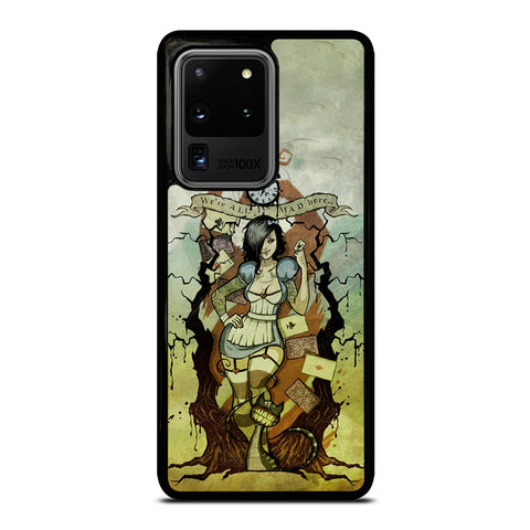 Zombie Alice In Wonderland Samsung Galaxy S20 Ultra / S20 Ultra 5G Case