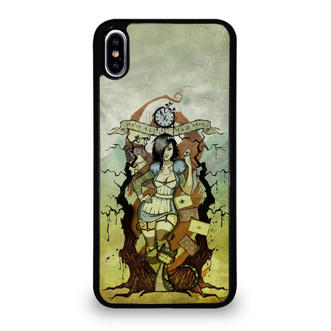 Zombie Alice In Wonderland iPhone XS Max Case