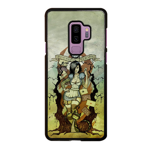 Zombie Alice In Wonderland Samsung Galaxy S9 Plus Case