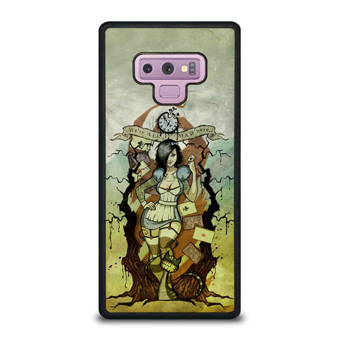 Zombie Alice In Wonderland Samsung Galaxy Note 9 Case