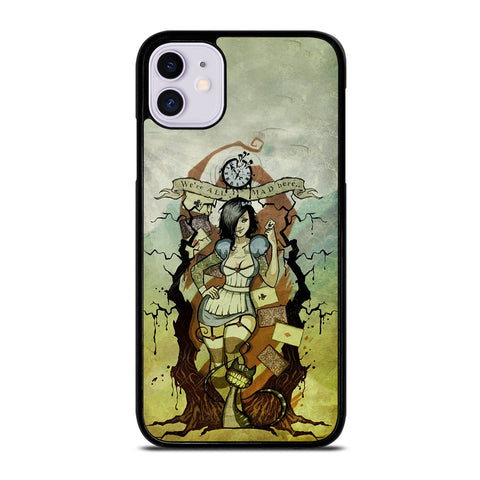 Zombie Alice In Wonderland iPhone 11 Case