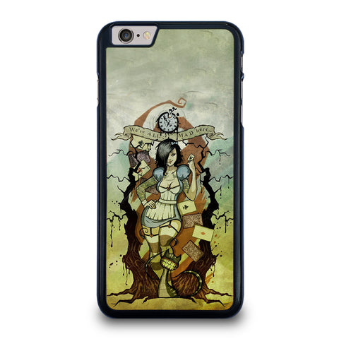 Zombie Alice In Wonderland iPhone 6 / 6S Plus Case