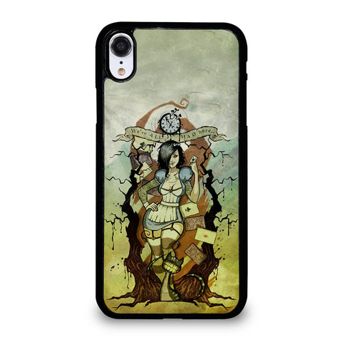 Zombie Alice In Wonderland iPhone XR Case