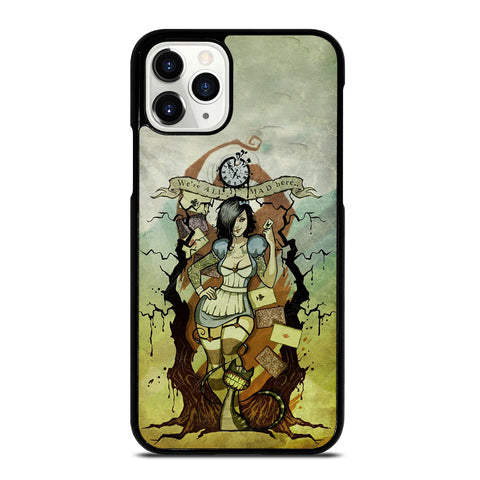 Zombie Alice In Wonderland iPhone 11 Pro Case