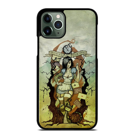 Zombie Alice In Wonderland iPhone 11 Pro Max Case