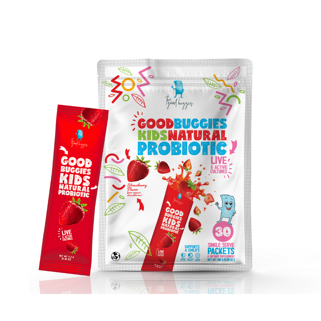 GoodBuggies Kids Natural Probiotic