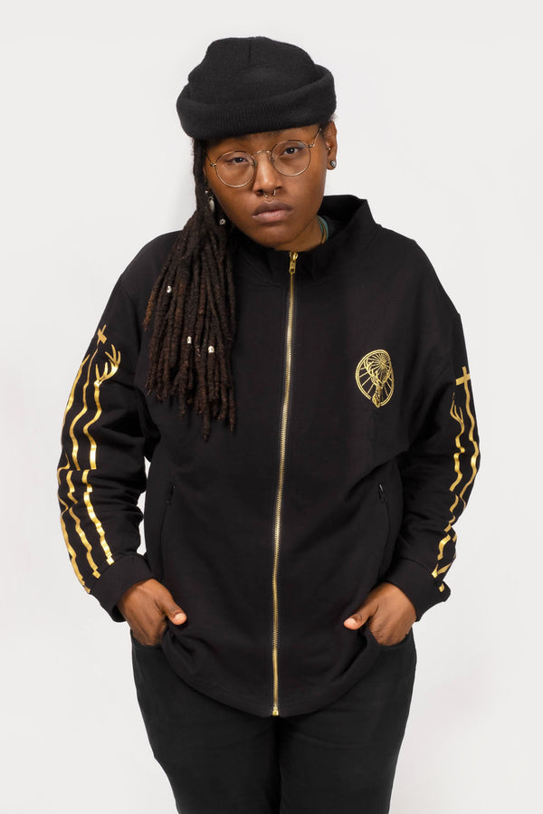 Jägermeister Black/Gold Track Jacket