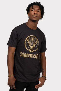 Jägermeister Stag Seal T-Shirt - Men's