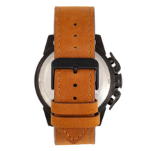 Load image into Gallery viewer, Morphic M81 Series Chronograph Leather-Band Watch w/Date - Camel/Black  - MPH8106