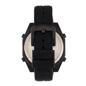 Morphic M76 Series Drum-Roll Strap Watch - Black/Rose Gold - MPH7605