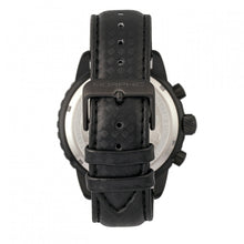 Load image into Gallery viewer, Morphic M51 Series Chronograph Leather-Band Watch w/Date - Black - MPH5104