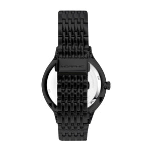 Morphic M65 Series Bracelet Watch w/Day/Date - Black - MPH6504