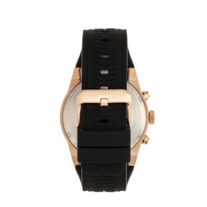 Morphic M72 Series Strap Watch - Black/Rose Gold - MPH7204