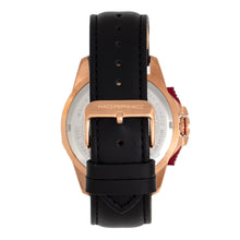 Load image into Gallery viewer, Morphic M82 Series Chronograph Leather-Band Watch w/Date - Rose Gold/Black - MPH8204