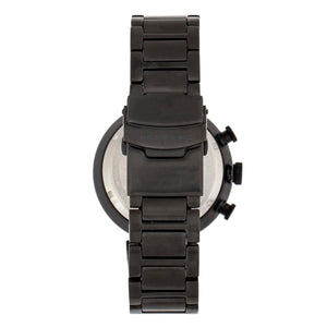 Morphic M87 Series Chronograph Bracelet Watch w/Date - Black - MPH8706