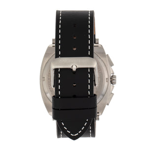 Morphic M79 Series Chronograph Leather-Band Watch - Silver/Black - MPH7905