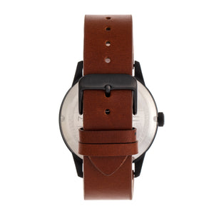 Morphic M77 Series Leather-Band Watch - Brown - MPH7706