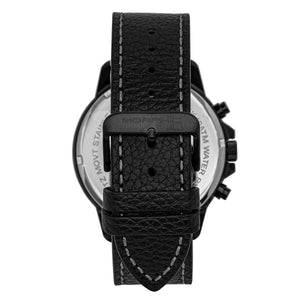 Morphic M86 Series Chronograph Leather-Band Watch - Black - MPH8605