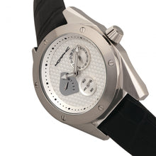 Load image into Gallery viewer, Morphic M46 Series Leather-Band Men's Watch w/Date - Silver - MPH4601