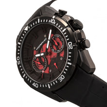 Load image into Gallery viewer, Morphic M66 Series Skeleton Dial Leather-Band Watch w/ Day/Date - Black - MPH6606