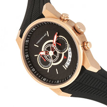 Load image into Gallery viewer, Morphic M72 Series Strap Watch - Black/Rose Gold - MPH7204