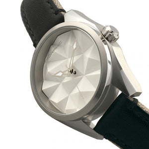 Morphic M59 Series Leather-Overlaid Canvas-Band Watch - Silver - MPH5901