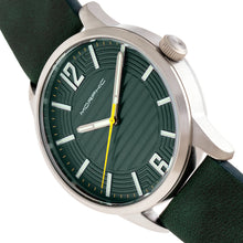 Load image into Gallery viewer, Morphic M77 Series Leather-Band Watch - Green - MPH7704