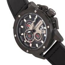 Load image into Gallery viewer, Morphic M81 Series Chronograph Leather-Band Watch w/Date - Black  - MPH8105