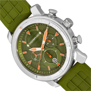 Morphic M90 Series Chronograph Watch w/Date - Green - MPH9003