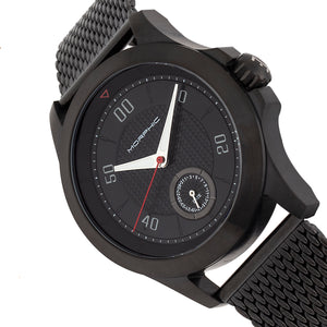 Morphic M80 Series Bracelet Watch w/Date - Black - MPH8004
