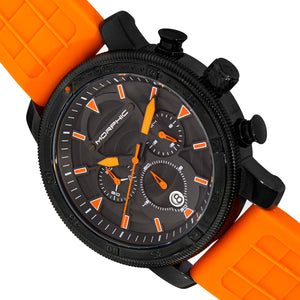 Morphic M90 Series Chronograph Watch w/Date - Orange/Black - MPH9006