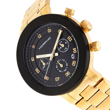 Load image into Gallery viewer, Morphic M78 Series Chronograph Bracelet Watch - Gold/Black - MPH7805