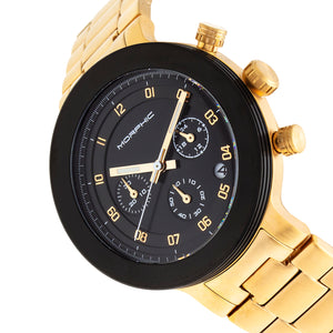 Morphic M78 Series Chronograph Bracelet Watch - Gold/Black - MPH7805