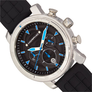 Morphic M90 Series Chronograph Watch w/Date - Black/Blue - MPH9002