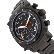 Load image into Gallery viewer, Morphic M83 Series Chronograph Bracelet Watch w/ Date - Black - MPH8303
