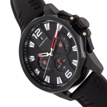 Load image into Gallery viewer, Morphic M82 Series Chronograph Leather-Band Watch w/Date - Black - MPH8205