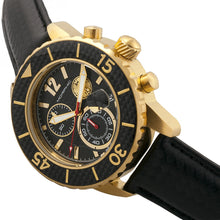 Load image into Gallery viewer, Morphic M51 Series Chronograph Leather-Band Watch w/Date - Gold/Black - MPH5102