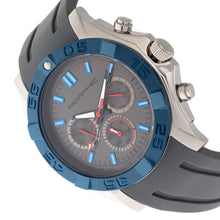 Load image into Gallery viewer, Morphic M75 Series Tachymeter Strap Watch w/Day/Date - Silver/Grey - MPH7503