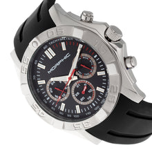 Load image into Gallery viewer, Morphic M75 Series Tachymeter Strap Watch w/Day/Date - Silver/Black - MPH7501