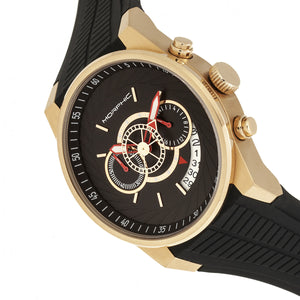 Morphic M72 Series Strap Watch - Black/Gold - MPH7203