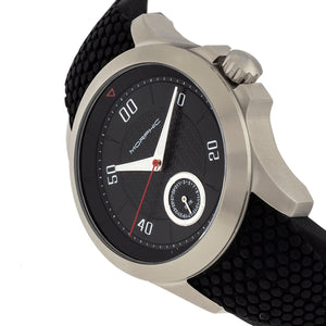 Morphic M80 Series Strap Watch w/Date - Silver/Black - MPH8005