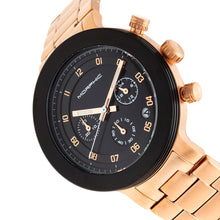 Load image into Gallery viewer, Morphic M78 Series Chronograph Bracelet Watch - Rose Gold/Black - MPH7806