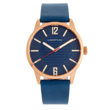 Load image into Gallery viewer, Morphic M77 Series Leather-Band Watch - Blue - MPH7705