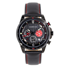 Load image into Gallery viewer, Morphic M88 Series Chronograph Leather-Band Watch w/Date - Black - MPH8806