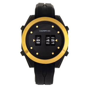 Morphic M76 Series Drum-Roll Strap Watch