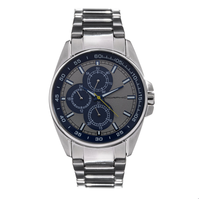 Morphic M92 Series Bracelet Watch w/Day/Date