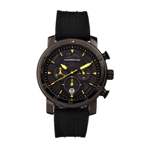 Morphic M90 Series Chronograph Watch w/Date - Black - MPH9005