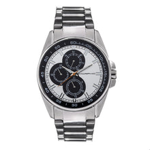 Load image into Gallery viewer, Morphic M92 Series Bracelet Watch w/Day/Date - Silver & Black - MPH9201